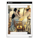 The gallery of the H.M.S. Calcutta by James Tissot Skins For The Xbox 360