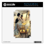 The gallery of the H.M.S. Calcutta by James Tissot Skin For iPod Touch 4G