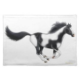 The Galloping Paint Horse Placemat