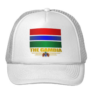 The Gambia Flag Trucker Hat