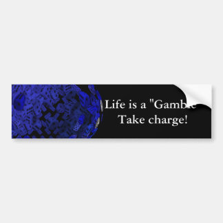 The gamblers Dice gifts Bumper Sticker