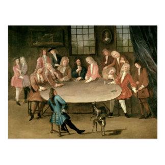 The Gamblers Postcard