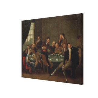 The Gambling House Gallery Wrapped Canvas