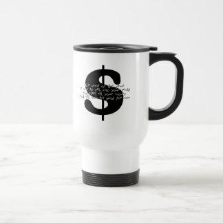 The $ Game 15 Oz Stainless Steel Travel Mug