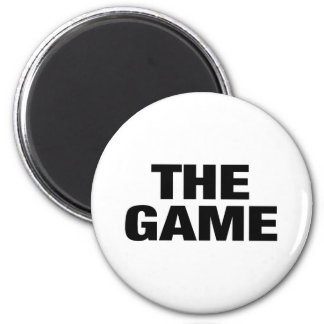 The Game 2 Inch Round Magnet