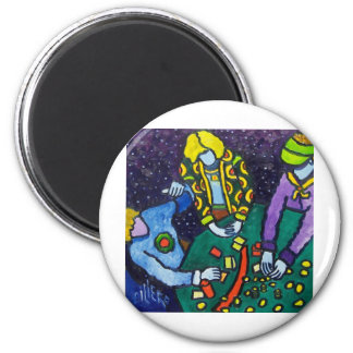 The Game by Piliero 2 Inch Round Magnet