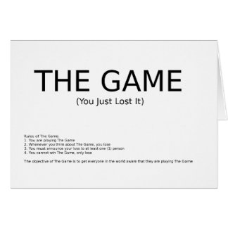The Game Card
