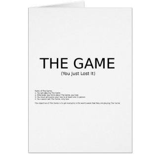 The Game Cards