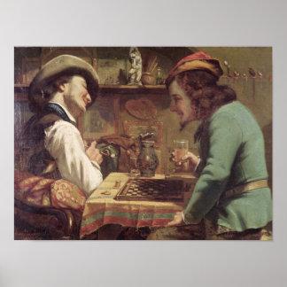 The Game de los proyectos, 1844 Póster