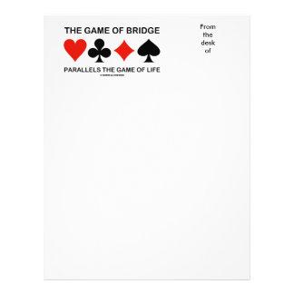 The Game del puente es paralelo a a The Game de la Membrete