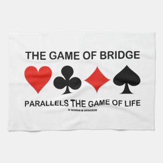 The Game del puente es paralelo a a The Game de la Toallas De Mano