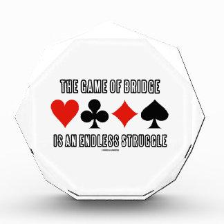 The Game del puente es una lucha sin fin