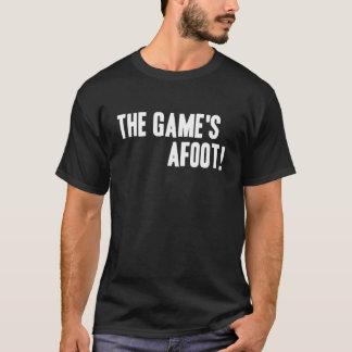 ¡The Game en curso de realización! Camiseta oscura