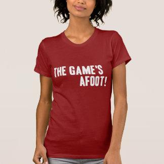 ¡The Game en curso de realización! Camiseta oscura Playera