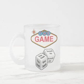 The Game Frosted Glass Coffee Mug