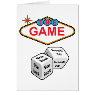 The Game Greeting Card