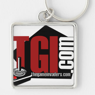 The Game Invaders merchandise Keychain