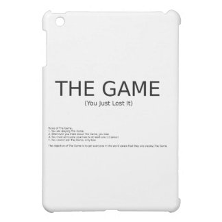 The Game Cover For The iPad Mini