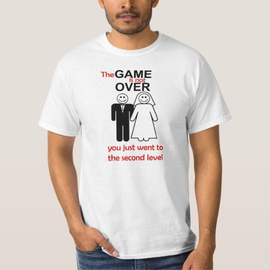 the game is not over t-shirt