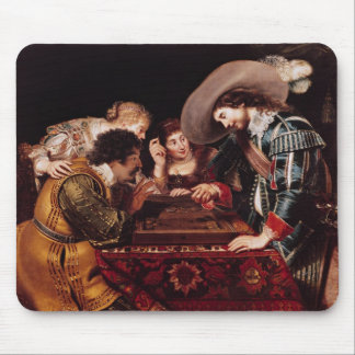 The Game of Backgammon Mouse Pad