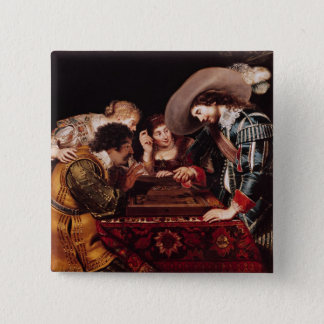 The Game of Backgammon Pinback Button