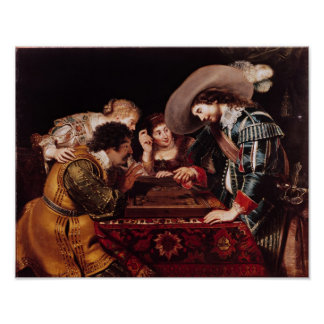 The Game of Backgammon Poster