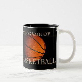 The Game of Basketball Two-Tone Coffee Mug