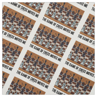 The Game Of Chess Moves Me Chess Stereogram Fabric