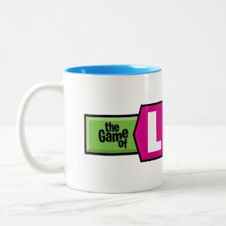 The Game of Life Logo Two-Tone Coffee Mug