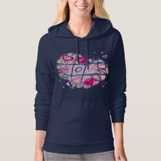 The Game of Love Hooded Pullover