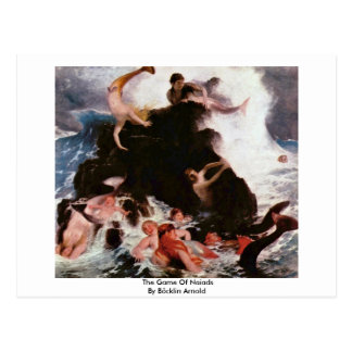 The Game Of Naiads By Böcklin Arnold Postcard
