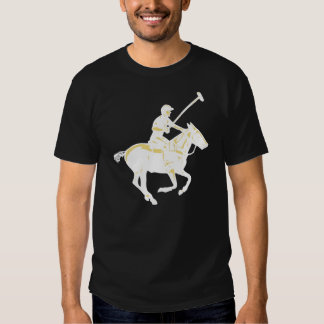 The game of polo, pony and player t-shirt