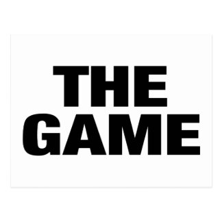 The Game Postcard
