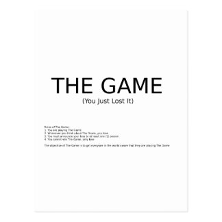 The Game Postcards