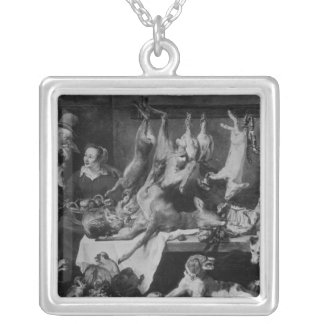 The Game Seller Silver Plated Necklace