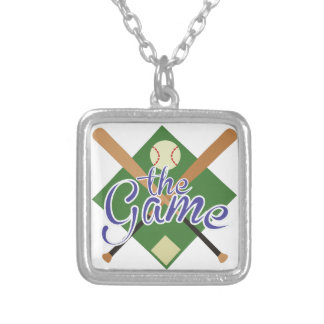 The Game Silver Plated Necklace