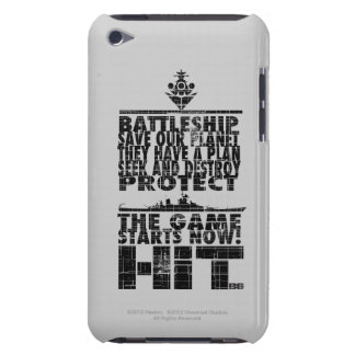 The Game Starts Now Case-Mate iPod Touch Case