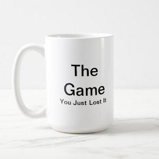 The Game, usted acaba de perderlo taza