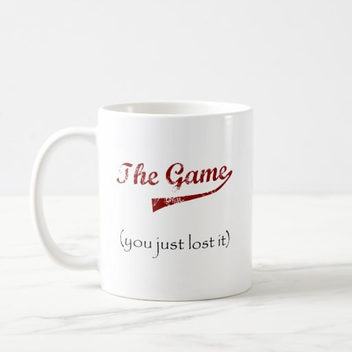 The Game….usted acaba de perderlo Taza Clásica