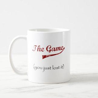 The Game….usted acaba de perderlo Taza De Café