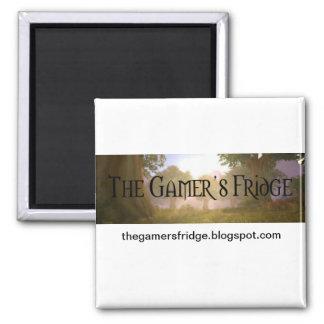 The Gamer's Fridge Magnet