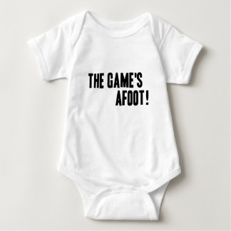 The Game's Afoot Baby Bodysuit