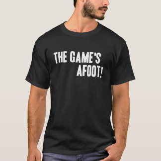 The Game's Afoot! Dark T-Shirt