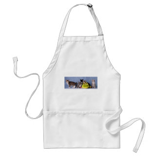 The gang adult apron