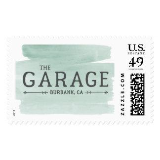 The Garage Burbank, CA Postage Stamp