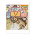 The Garbage Collector Postcard