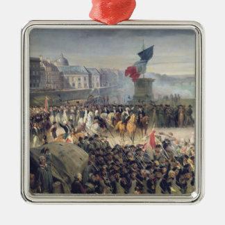 The Garde Nationale de Paris Metal Ornament