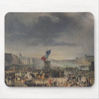 The Garde Nationale de Paris Mouse Pad