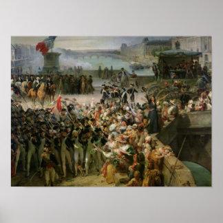 The Garde Nationale de Paris Poster