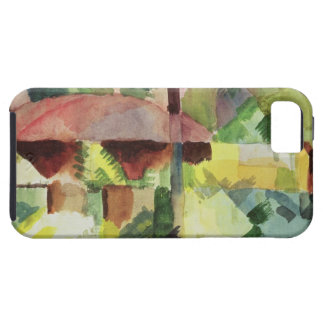 The Garden, 1914 (w/c on paper) iPhone SE/5/5s Case